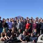 Der Teide ruft - Alle noch entspannt vor dem höchsten Berg Spaniens