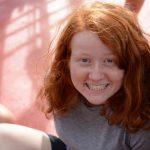 Anna hat immer gute Laune