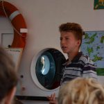 Gereon hält einen Vortrag über St Vincent and the Grenadines
