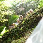 Kusis mitten im Urwald