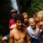 Eine weitere Kleingruppe im Regenwald
