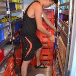 Arbeit in der Kühllast – Praktikum im Proviant