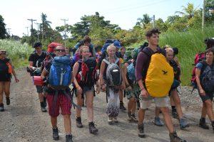 Ab in den panamaischen Urwald mit allem Gepäck