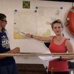 Schiffsübergabe – Schülerleitung stellt den Reiseverlauf vor