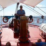 Kurs Kuba...der eine steuert, die anderen entspannen