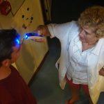 Maria La Gorda - beim Einklarieren wird erstmal Fieber gemessen