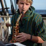 ...und unserem Saxophonisten Luki