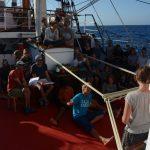 Die Schülerschiffsleitung bringt alle auf den neusten Stand