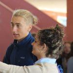 ... Robin im Gespräch mit kubanischen Schülern
