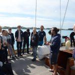 Eine Führung auf dem Segelschulschiff Spirit of Bermuda