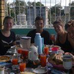 Kleingruppe Holguin-Gemütliches Frühstück