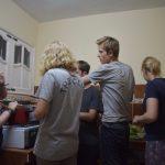 Kleingruppe Holguin- ...dann gemeinsam kochen.