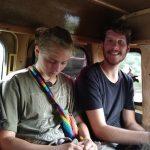 Kleingruppe Matanzas- Rückfahrt mit dem Sammeltaxi mit Paul und Anna-Lena