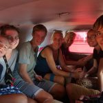 Kleingruppe Sankti Spiritus- Mit dem Taxi nach...