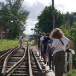 Kleingruppe Santa Clara- Auf dem Weg zum Güterwagenmuseum