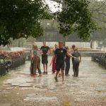 KuSis tanzen im Regen