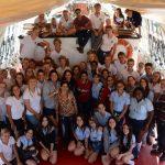 Der Abschluss mit den kubanischen Schülern