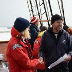 Johannes gibt sein Amt als Kapitän an Renee ab