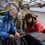 Die Bootsmänner Lukas und Titus