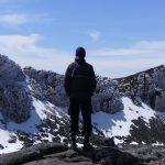 Der Wanderer über dem Eisfelsenmeer
