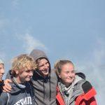 ...genauso wie Jonas, Lukas, Simon und Emilia auf dem höchsten Berg Portugals