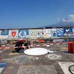 Der 11. KUS-Jahrgang wird sich ebenfalls auf der Pier von Horta verewigen