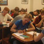 Konzentration während der Deutschklausur