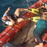 Käptain über Bord