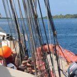 Aussetzen des Rescuebootes