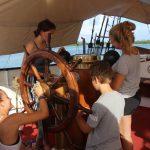 Reinschiff Deck