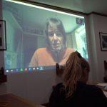 Videokonferenz mit Ruth für Informationen aus Deutschland