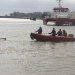 Druchholen im Rescueboat